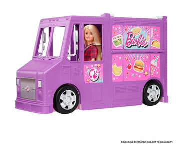 Masina rulota Barbie