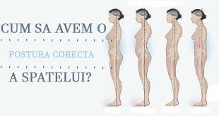 Cum sa avem o postura corecta a spatelui? - Body & Skin