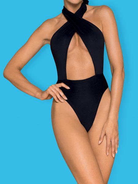 Costum De Baie Acantila - Negru L M S